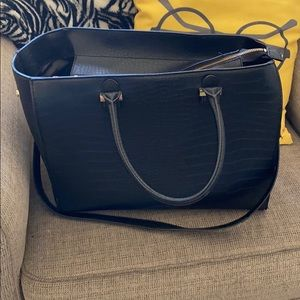 Large black purse